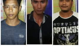 Polres Langkat tangkap tiga pengedar sabu-sabu, satu orang warga Deliserdang