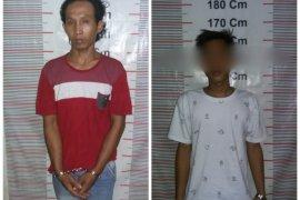 Polisi Gebang Langkat ringkus dua tersangka pemilik narkotika