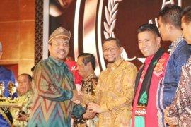 Tepian Bandar Sungai Jantan Siak juara III kategori destinasi baru terpopuler API Award