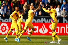 Liga Spanyol, Barcelona tundukan Leganes usai tertinggal di babak pertama