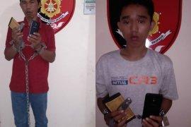 """Polda Bali tangkap dua """"penjambret"""" turis di Denpasar"""