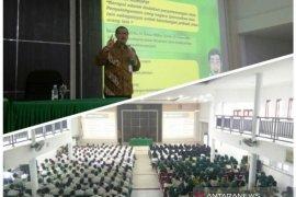 Inspektur I Kementan kuliah umum pendidikan antikorupsi di Polbangtan Medan