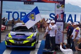 IMI promosikan wisata Danau Toba Parapat dengan balapan mobil