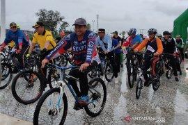 Ribuan peserta ikut fun bike di Aceh Timur