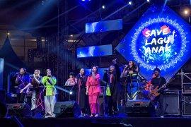 Mantan penyanyi-penyanyi cilik usung lagu anak di panggung The 90's Festival