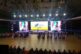 Tiga kali beruntun Jawa Barat pertahankan juara umum Popnas