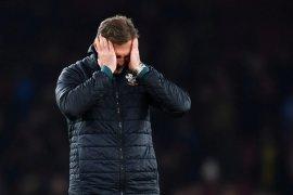 Liga Inggris - Ditahan imbang Southampton 2-2,  Arsenal merosot ke posisi tujuh