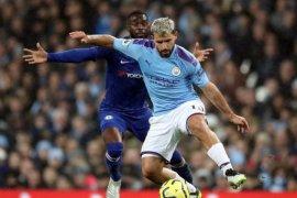 Manajer Manchester City sebut Sergio Aguero akan absen dalam beberapa pekan