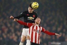 Hasil Liga Inggris, Sheffield tahan imbang United 3-3 melalui laga dramatis