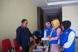 BNNP Malut tes urine anggota DPRD Halut dan Pulau Morotai