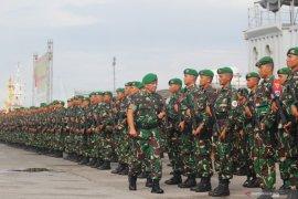 Mabes TNI kerahkan empat batalyon Kostrad ke Papua