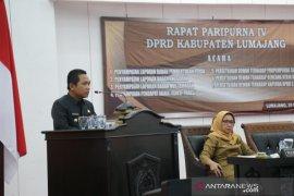 DPRD Lumajang setujui Raperda APBD 2020