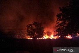 Kebakaran hebat melanda Pasar TPO Tanjungbalai