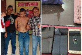 Pencurian HP di Binjai gunakan senjata mainan ditangkap polisi