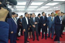 Jokowi sambangi pabrik Hyundai Motor di Korsel