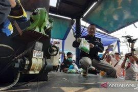 Barang bukti sabu-sabu 5,26 kilogram dimusnahkan BNNP Jatim