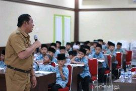 Puluhan siswa SD kunjungi kantor Wali Kota Padangsidimpuan