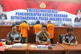 Ditresnarkoba Malut tangkap pelaku narkoba di kawasan Lapas Ternate