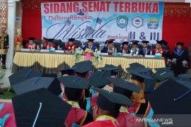 154 mahasiswa AKN Abdya akhirnya diwisuda