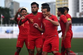 Egy Maulana Vikri bawa timnas U-22 Indonesia ungguli Thailand 1-0 di babak pertama