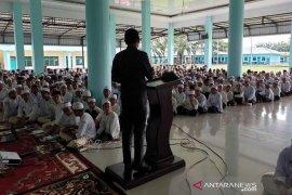 Dinas Pendidikan Dayah dan polisi sosialisasi bahaya narkoba di Al-Muslimun
