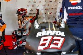 Marquez bersaudara  tes pramusim di Jerez