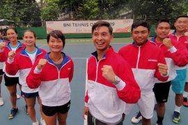 Para petenis Indonesia jadi unggulan pada tiga kategori