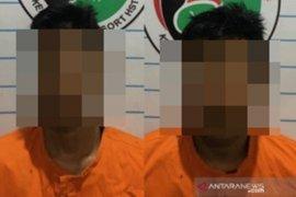 Inilah dua pengedar narkoba yang ditangkap di Bawan Permai Barabai
