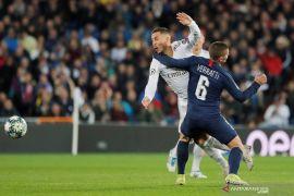 PSG rusak pesta kelolosan Real Madrid  ke fase gugur Liga Champions