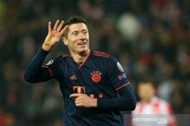 Liga Champions, Empat gol Lewandowski antar Muenchen lumat Red Star 6-0