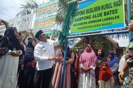 Pemkab Aceh Barat sosialisasi Pancasila dan UUD 1945 melalui kampung muslimin