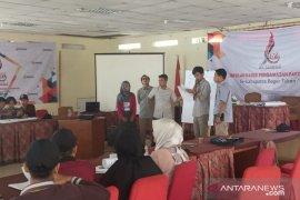Bawaslu Bogor melatih 90 pemuda jadi kader pengawas
