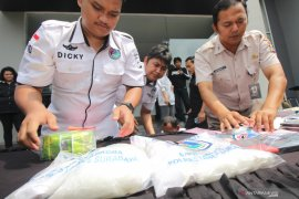 Kasus peredaran narkotika 7,4 kilogram