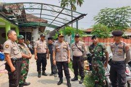 Pastikan keamanan pilkades, Kabid Humas Polda Banten datangi lokasi kampanye