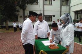 Sekda Pandeglang minta pejabat baru menyesuaikan diri