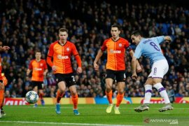 Manchester City juara Grup C walaupun bermain imbang melawan Shakhtar