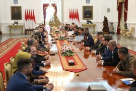 Presiden singgung diskriminasi sawit saat terima Dewan Bisnis UE-ASEAN