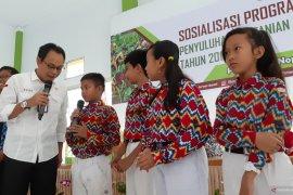 Distan TPH Kalbar luncurkan program penyuluhan pertanian masuk sekolah