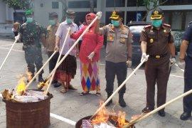 Kejari Denpasar musnahkan barang bukti narkotika Rp16,6 miliar