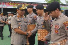 Satu anggota Polres HST diberhentikan tidak hormat dan 14 mendapatkan reward