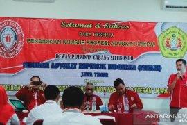 Ferari Situbondo gandeng UPN Jatim gelar pendidikan calon advokat
