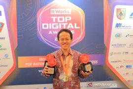 Pemkot Tangerang raih  penghargaan  Top Digital Award 2019