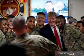 Trump lakukan kunjungan mengejutkan ke Afghanistan