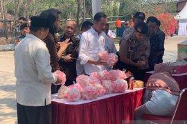 Teten Masduki dampingi Presiden kunjungi Mekaar Subang