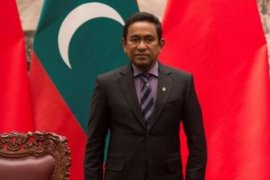 Berita dunia - Mantan presiden Maladewa dipenjara lima tahun karena pencucian uang