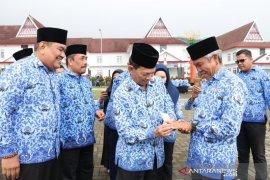 Jokowi ucapkan selamat kepada seluruh Korpri