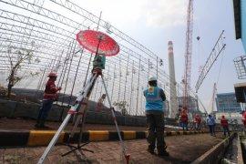 PLN selesaikan pemasangan struktur baja PLTU Indramayu