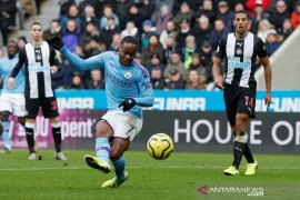 Manchester City ditahan imbang Newcastle 2-2