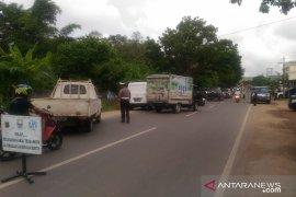 Ditlantas Polda dan Bakeuda Jambi gelar razia pertiban pajak kendaraan