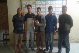 Untuk keempat kalinya, warga Tanjung Pura ini ditangkap terkait kasus narkotika